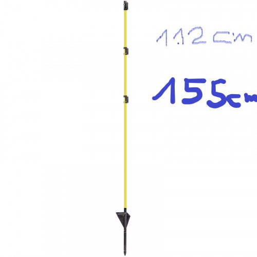 Ol Tech fiberglas piles 112 cm