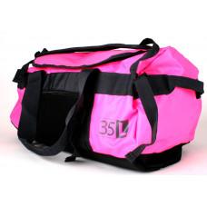 Duffelbag M wasserdicht pink