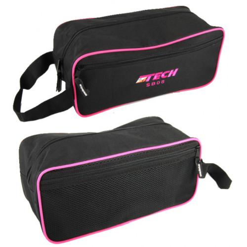 OL Tech shoebag black pink