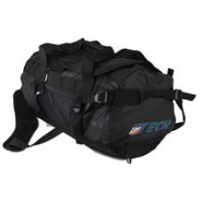Duffelbag M wasserdichte Tasche schwarz petrol