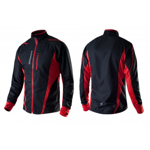 Noname Running Jackets black red