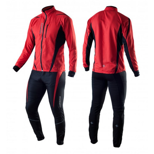 Noname Running Jackets red black