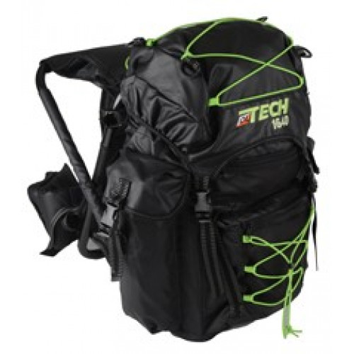 Ol Tech Rucksack with chair 40 liters black lime