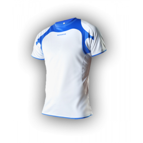 Noname running shirt white/blue
