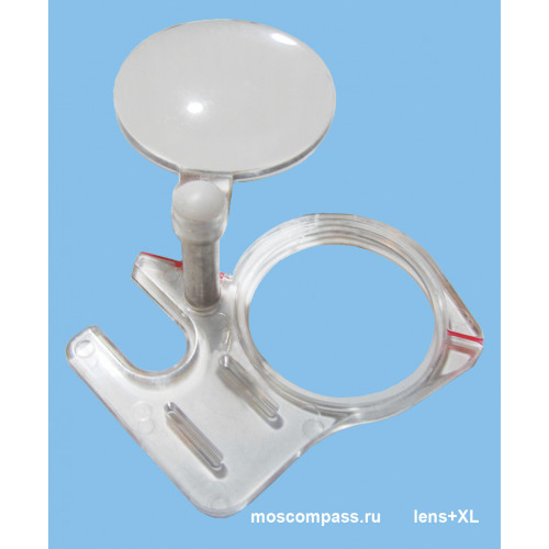 Moscow compass thumbplate with lens