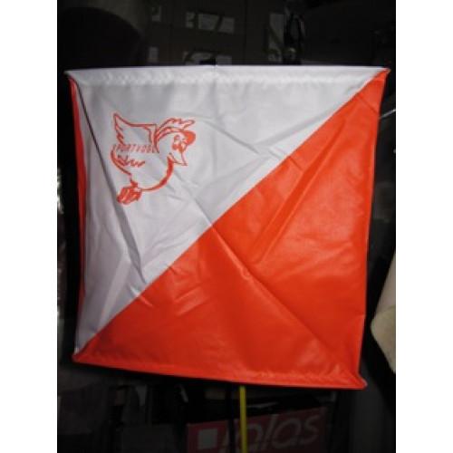 O-Control Flag 30x30cm strong