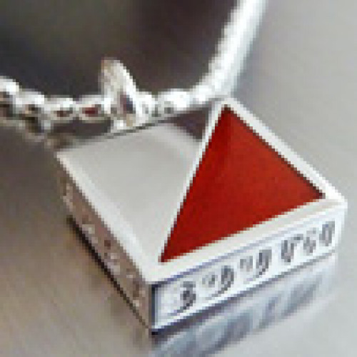 Jewelry O-sign red