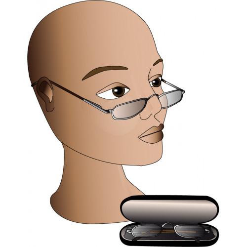 Vapro Brille Halfframe